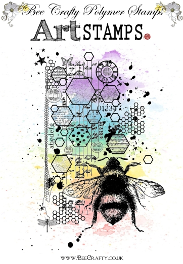 bee-crafty-art-stamps-bee-scripted-bee