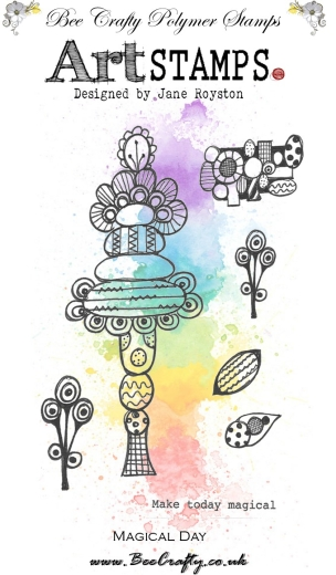 bee-crafty-art-stamps-by-jane-royston-cone-flowers-magical-day