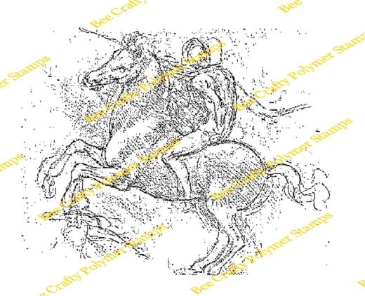 bee-crafty-art-stamps-da-vinci-sforza-horse