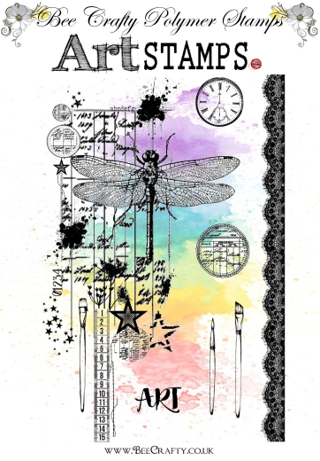 bee-crafty-art-stamps-dragonfly-art
