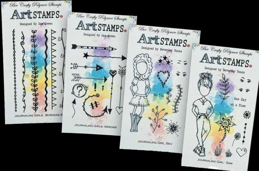 bee-crafty-art-stamps-journaling-girls-sambev-bundle