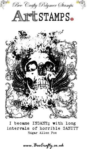 bee-crafty-art-stamps-skull-background-set