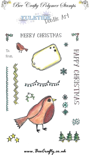 bee-crafty-yuletide-doodle-art-stamps-robin