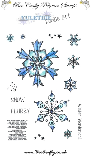 bee-crafty-yuletide-doodle-art-stamps-snowflakes