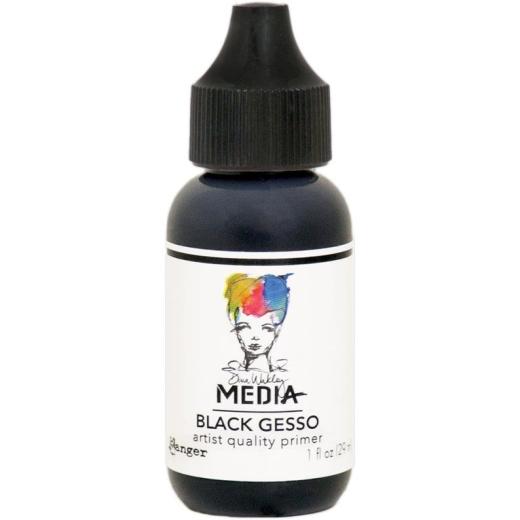 dina-wakley-media-black-gesso-1floz