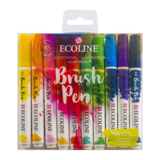 ecoline-brush-pens-10-sets-illustrator