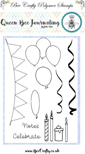 queen-bee-journaling-balloons-buntings